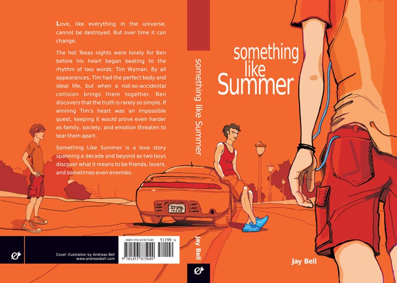 Full cover art for Jay Bell's Somethign Like Summer