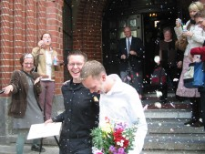 Big Gay Wedding Day, Jay Bell and Andreas Bell