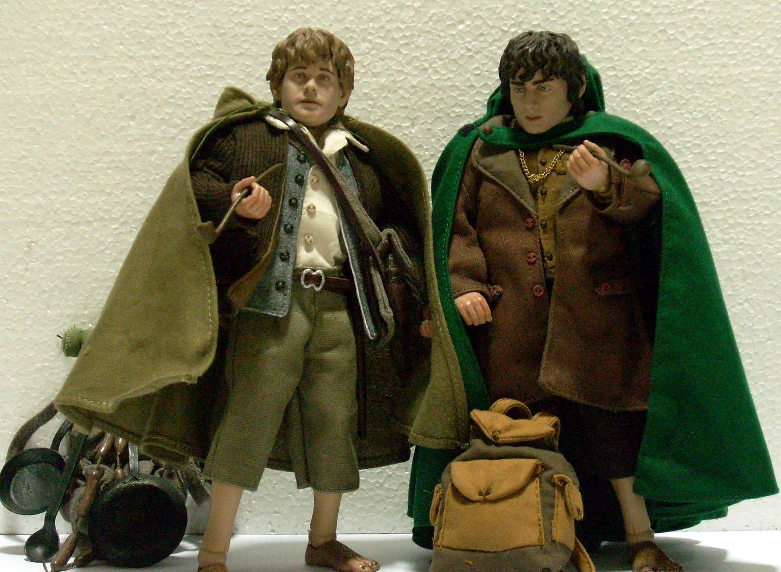 from Xavier frodo and sam gay
