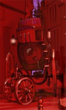 The steam coach from Hell's Pawn