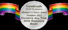 Goodreads M/M Romance Group Members Choice Awards 2012