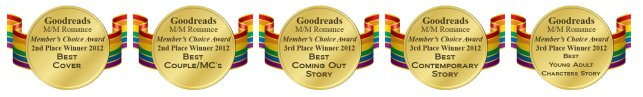 Goodreads M/M Romance 2012 Member Choice Awards