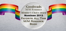 Goodreads M/M Romance Member's Choice Awards Nominees Winners
