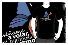 esename a volar mi mariposa hermosa T-shirt